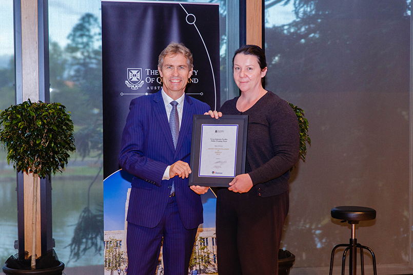 2018 Uq Awards For Excellence Current Staff University Of Queensland