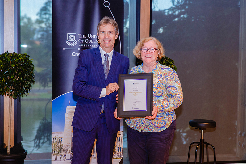 2018 UQ Awards for Excellence - Current staff - University