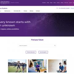 New Future Students website launched